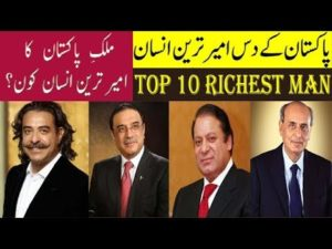 Top 10 personof pakistan