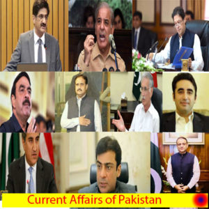 Current Affairs in Pakistan