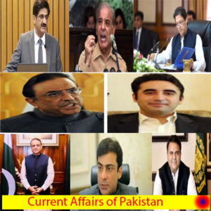 current Affairs of pakistan